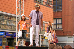 модный парад Стоковые Фото