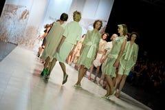 модный парад Стоковое фото RF