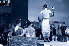 модный парад Стоковая Фотография