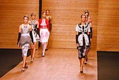 модный парад 3 Стоковые Фотографии RF