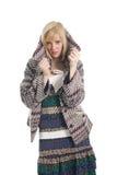 модный подросток девушки Стоковые Изображения RF