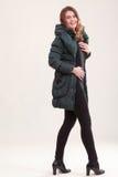 Модный способ зимы стоковая фотография