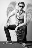 модный человек стильный Стоковое фото RF