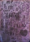 Мое искусство Стоковое фото RF