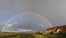 мое село радуги Стоковое фото RF