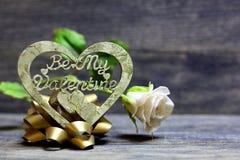 Мое сердце валентинки ручной работы Стоковые Фотографии RF