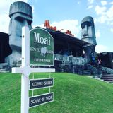 Мое Moai Стоковое фото RF