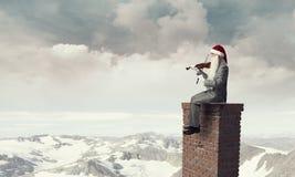 Можете вы здесь эта мелодия рождества Мультимедиа Стоковое Изображение RF