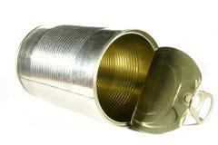 может изолированное олово Стоковое Изображение RF