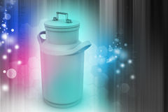 Может контейнер для молока Стоковое фото RF