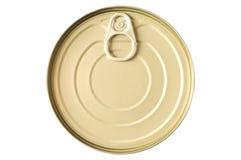 может покрашенное олово золота еды Стоковая Фотография