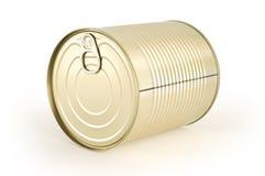 может покрашенное олово золота еды Стоковое фото RF