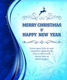 может прочесать друзья рождества приветствовать праздники вариант ночи к желаниям пишет Стоковая Фотография