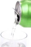 может стеклянная зеленая сода Стоковое Изображение RF