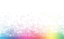 Мозаика абстрактного спектра красочная нижняя бесплатная иллюстрация