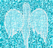 мозаика ангела Стоковое Фото