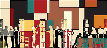 мозаика архива Стоковая Фотография