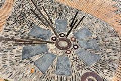 Мозаика Барселона мостоваой Стоковая Фотография