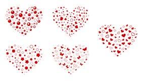 Мозаика влюбленности Стоковое фото RF