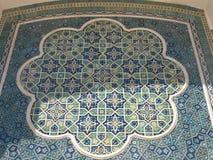 Мозаика в археологическом музее в Termiz Стоковая Фотография RF