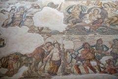 Мозаика в доме Aion Стоковое фото RF
