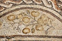 Мозаика в национальном парке Zippori (Tsipori) Израиль Стоковое Изображение