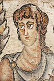 Мозаика в национальном парке Zippori (Tsipori) Израиль Стоковые Изображения RF