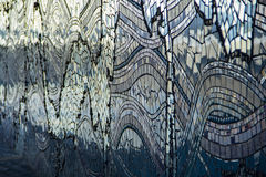 Мозаика вдоль реки в Джексонвилле, Флориды Стоковое Фото