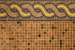 Мозаика в старом стиле. Стоковые Изображения