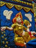 Мозаика в Wat Chayamangkalaram Стоковые Фотографии RF
