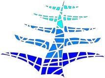 Мозаика дерева Стоковое Фото