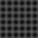 Мозаика картины кругов repeatable - безшовной предпосылки Стоковая Фотография