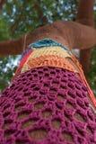 Мозаика картины Knit Стоковые Фото