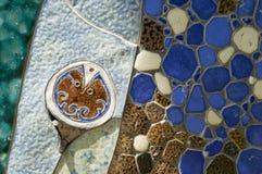 Мозаика керамическая Стоковая Фотография RF