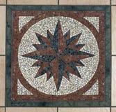 мозаика компаса Стоковые Фото