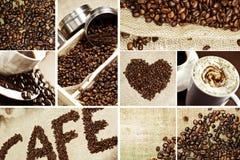 Мозаика кофе Стоковая Фотография RF