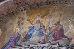 Мозаика на базилике St Mark, Венеции Италии Стоковые Изображения RF