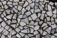 Мозаика на дне бассейна Стоковая Фотография