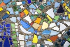 Мозаика на стене Стоковые Фотографии RF