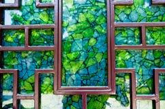 Мозаика окна Стоковое Фото