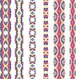 мозаика орнаментирует безшовный вектор иллюстрация штока