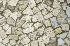 Мозаика от больших каменных частей Стоковое Фото