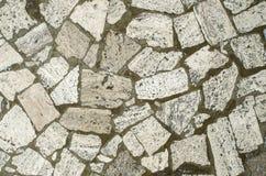 Мозаика от большого камня соединяет крупный план Стоковые Фотографии RF