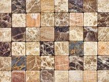 Мозаика от естественного камня предпосылка Стоковые Изображения