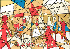 Мозаика парка Стоковое фото RF