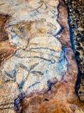 Мозаика пола Стоковое Фото