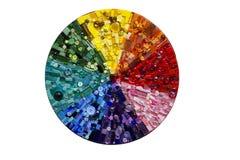 Мозаика радуги круга Стоковые Фото