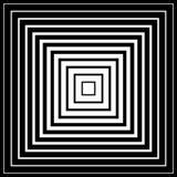 Мозаика, решетка квадратов с эффектом искажения Абстрактное graysca Стоковая Фотография RF