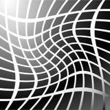 Мозаика, решетка квадратов с эффектом искажения Абстрактное graysca Стоковые Изображения RF