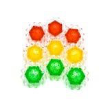 мозаика света гирлянды шариков Стоковое Изображение
